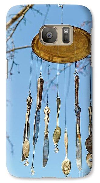 Galaxy Case featuring the photograph Tintinnabulation.. by Nina Stavlund