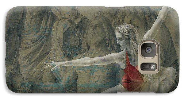 Galaxy Case featuring the digital art Tiny Dancer  by Paul Lovering