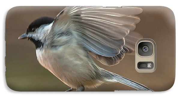 Galaxy Case featuring the photograph Tiny Flyer by Jim Moore
