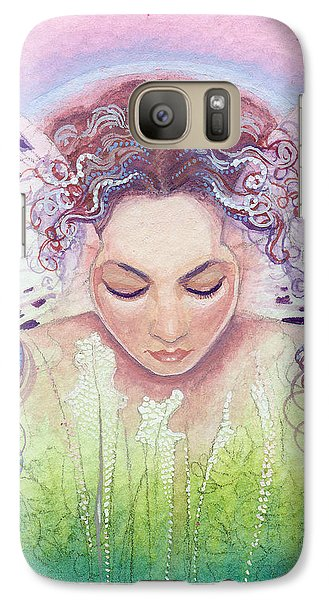 Galaxy Case featuring the painting Titania by Ragen Mendenhall