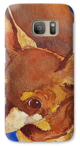 Galaxy Case featuring the painting Tivo by Judy Mercer