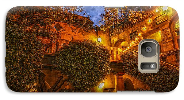 Galaxy Case featuring the photograph Tlaquepaque Evening by Laura Pratt