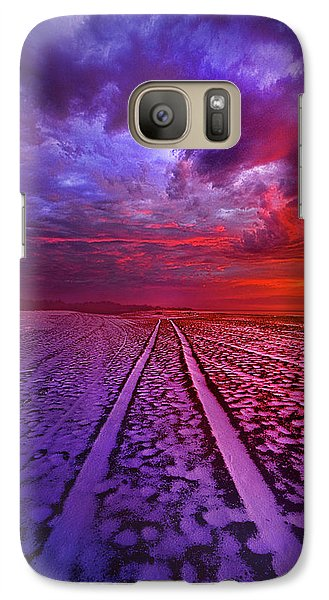 Galaxy Case featuring the photograph To All Ends Of The World by Phil Koch