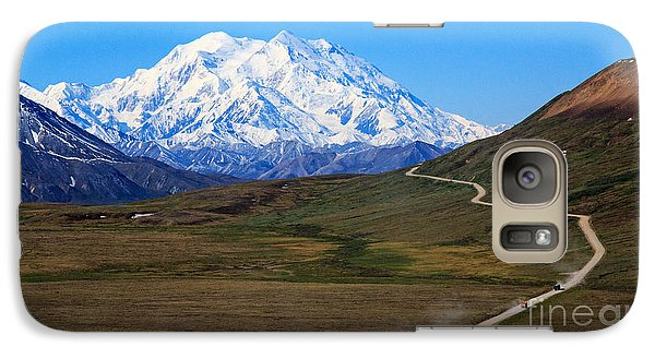 Galaxy Case featuring the photograph To Mount Mckinley by Robert Pilkington