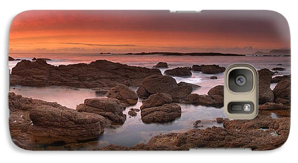 Galaxy Case featuring the photograph To Sea's Unknown by John Chivers