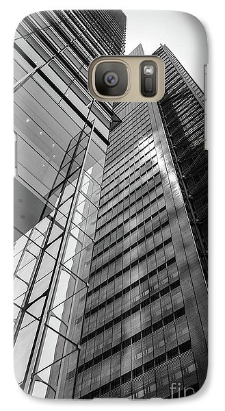 Galaxy Case featuring the photograph To The Top   -27870-bw by John Bald