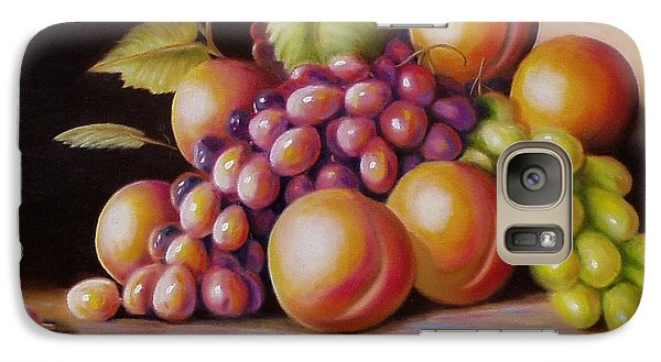 Galaxy Case featuring the painting Todays Harvest by Gene Gregory