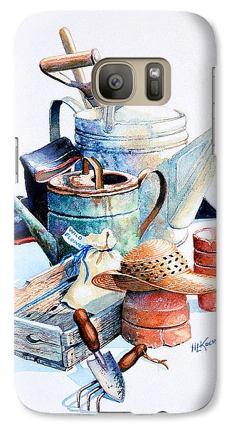 Garden Galaxy S7 Case - Todays Toil Tomorrows Pleasure II by Hanne Lore Koehler