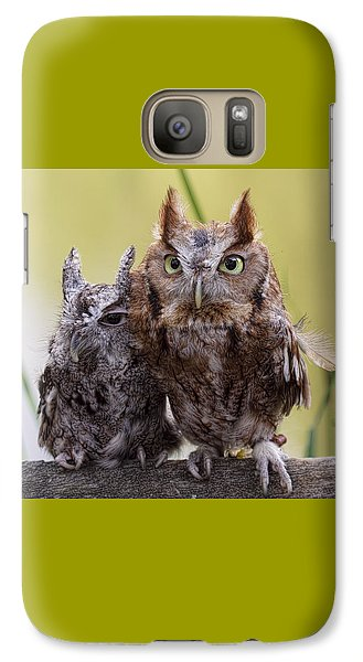 Galaxy Case featuring the photograph Togetherness by Cheri McEachin