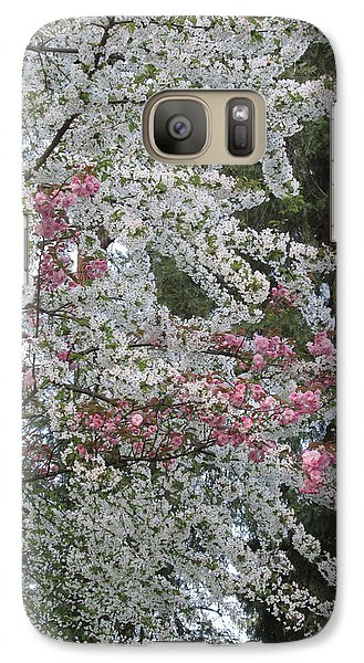 Galaxy Case featuring the photograph Togetherness by Marie Neder