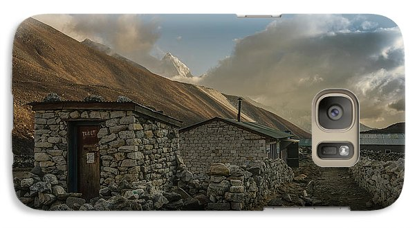 Galaxy Case featuring the photograph Toilet by Mike Reid