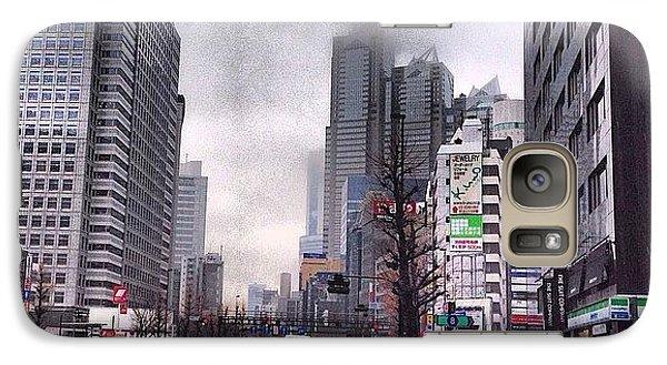 Tokyo Cloudy Galaxy S7 Case