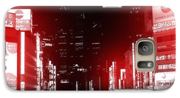 Tokyo Street Galaxy Case by Naxart Studio