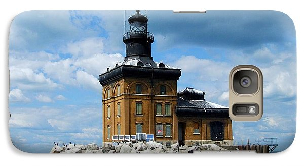 Galaxy Case featuring the photograph Toledo Harbor Lighthouse by Michiale Schneider