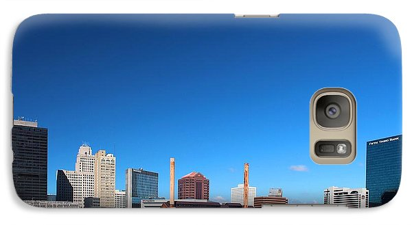 Galaxy Case featuring the photograph Toledo Skyline I by Michiale Schneider