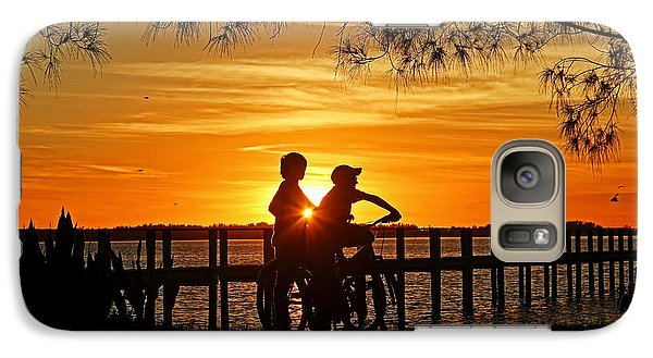 Galaxy Case featuring the photograph Tom And Huck by HH Photography of Florida