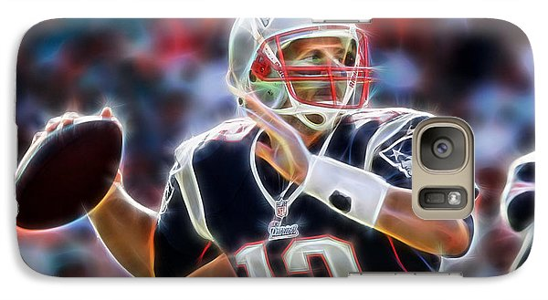 Tom Brady Collection Galaxy Case by Marvin Blaine