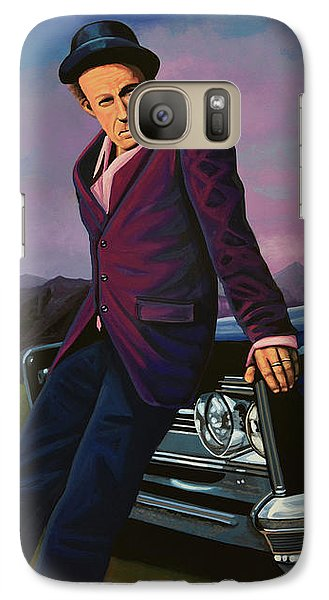 Tom Waits Galaxy S7 Case by Paul Meijering