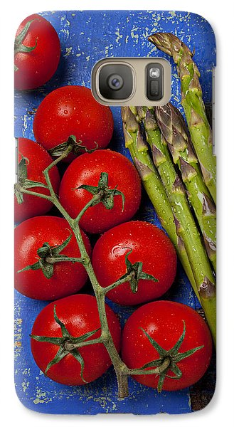 Tomatoes And Asparagus  Galaxy S7 Case
