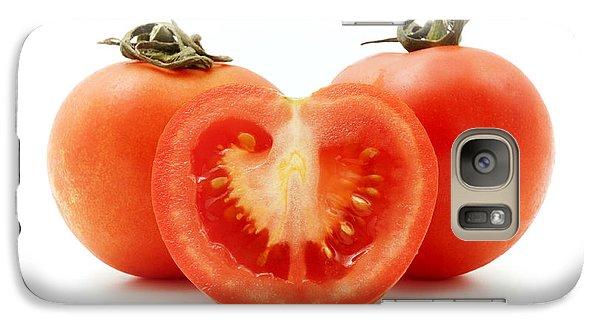 Tomatoes Galaxy Case by Fabrizio Troiani