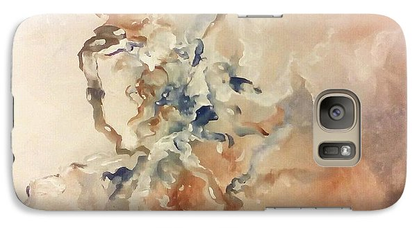 Galaxy Case featuring the painting Tomorrows Dream by Raymond Doward