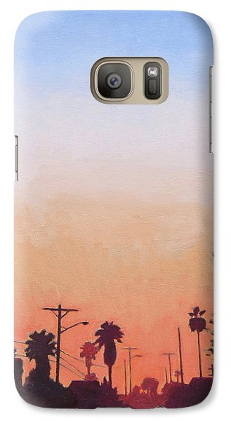 Galaxy Case featuring the painting Tonal Hollywood by Andrew Danielsen