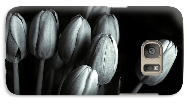 Galaxy S7 Case featuring the photograph Tonal Tulips by Jessica Jenney