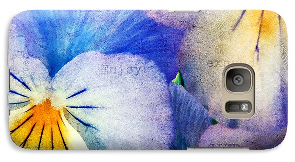 Galaxy Case featuring the photograph Tones Of Blue by Darren Fisher
