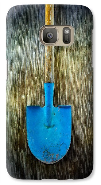 Tools On Wood 23 Galaxy S7 Case by Yo Pedro