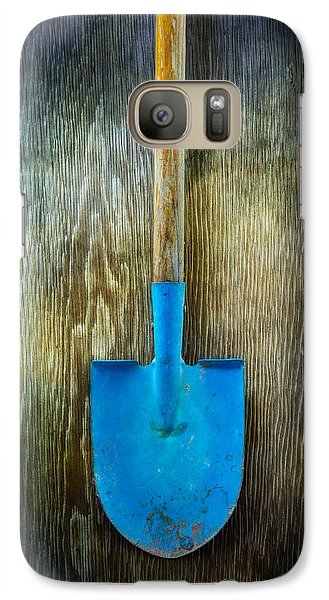 Garden Galaxy S7 Case - Tools On Wood 23 by Yo Pedro
