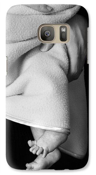 Galaxy Case featuring the photograph Tootsies by Angela Rath