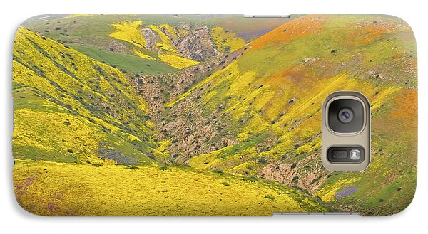 Galaxy Case featuring the photograph Top Of The Temblor Range by Marc Crumpler