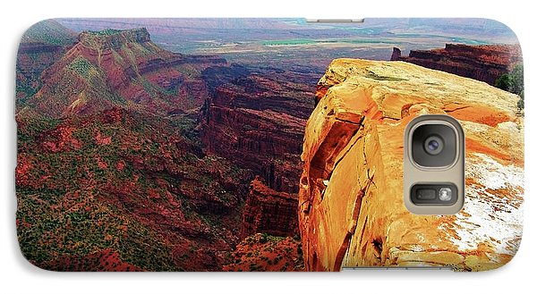 Galaxy Case featuring the digital art Top Of The World by Gary Baird