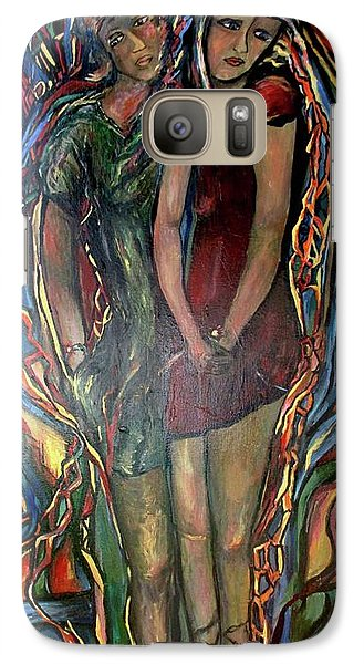 Galaxy Case featuring the painting Genetics,topoisomerase by Dawn Fisher