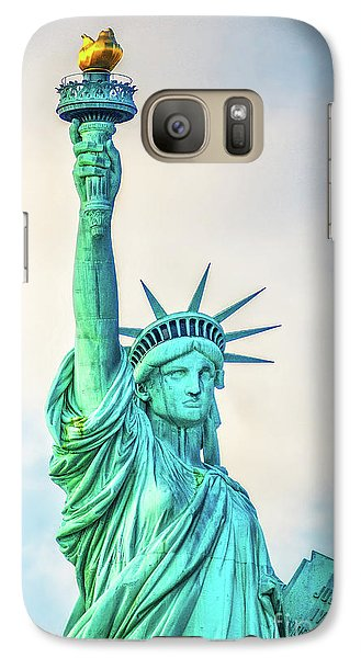 Galaxy Case featuring the photograph Torch Of Liberty by Nick Zelinsky