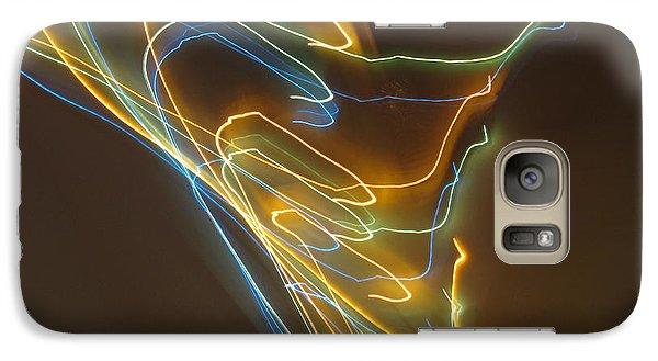 Galaxy Case featuring the photograph Tornado Of Lights. Dancing Lights Series by Ausra Huntington nee Paulauskaite