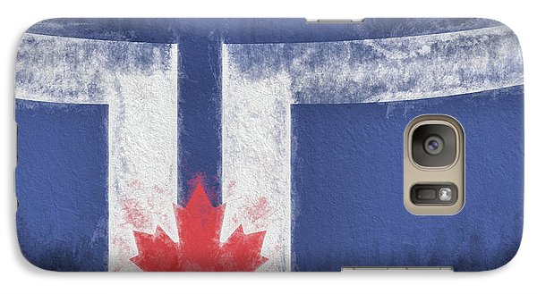 Galaxy S7 Case featuring the digital art Toronto Canada City Flag by JC Findley