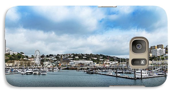 Galaxy Case featuring the photograph Torquay Devon by Scott Carruthers