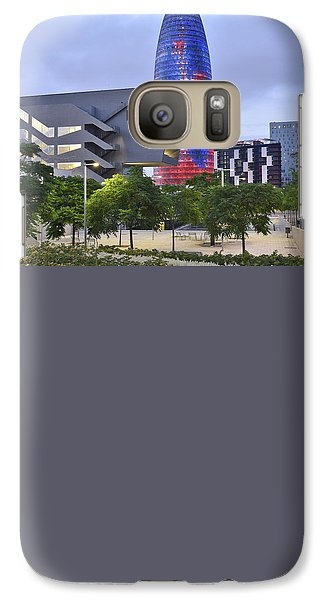 Galaxy Case featuring the photograph Torre Agbar Barcelona  by Marek Stepan