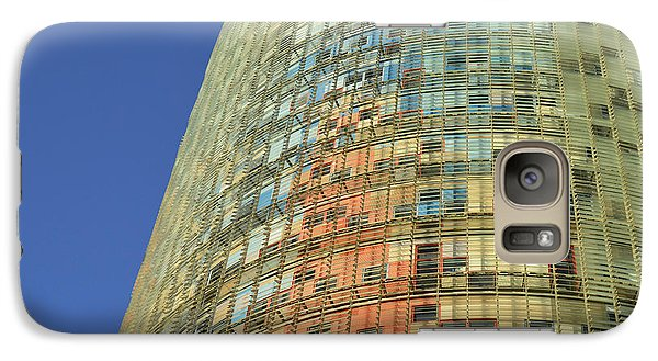Galaxy Case featuring the photograph Torre Agbar  by Marek Stepan