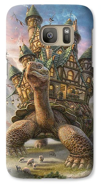 Tortoise House Galaxy S7 Case by Phil Jaeger