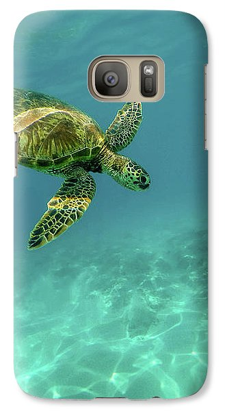 Tortoise Galaxy S7 Case by Happy Home Artistry