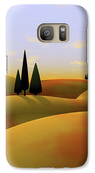 Landscapes Galaxy S7 Case - Toscana 3 by Cynthia Decker