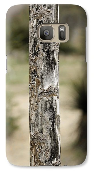 Galaxy Case featuring the photograph Totem Pole  by Viktor Savchenko
