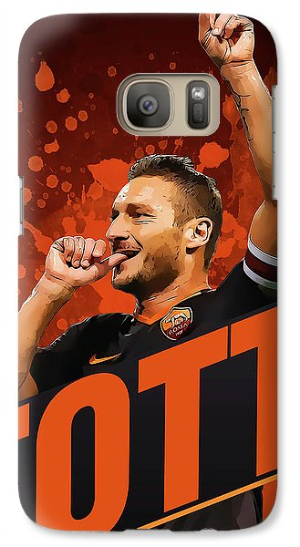 Totti Galaxy Case by Semih Yurdabak