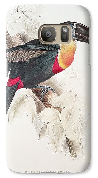 Toucan Galaxy S7 Case by Edward Lear