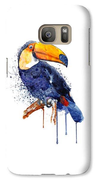 Toucan Galaxy S7 Case - Toucan by Marian Voicu