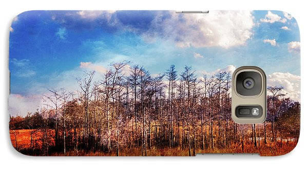 Galaxy Case featuring the photograph Touch Of Autumn In The Glades by Debra and Dave Vanderlaan