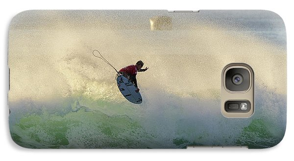 Galaxy Case featuring the photograph Touch The Sun by Thierry Bouriat