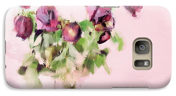 Galaxy Case featuring the mixed media Touchable by Betty LaRue
